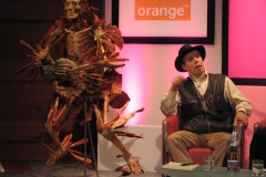 Gunther von Hagens at Edinburgh International Television Festival - Scotland - 2005 - Foto: Ole Holbech