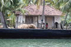 Kerala backwaters – India – 1983 - Foto: Ole Holbech